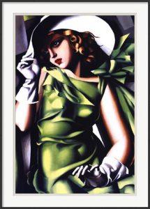 Jeune Fille Vert by Tamara De Lempicka