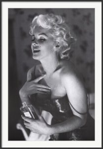 Marilyn Monroe's Chanel #5, photograph by Ed Feingersh