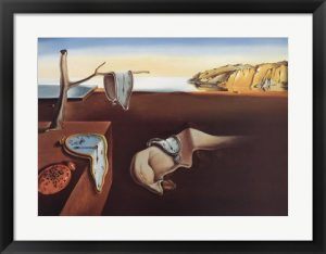 The Persistence of Memory - Salvador Dali Print