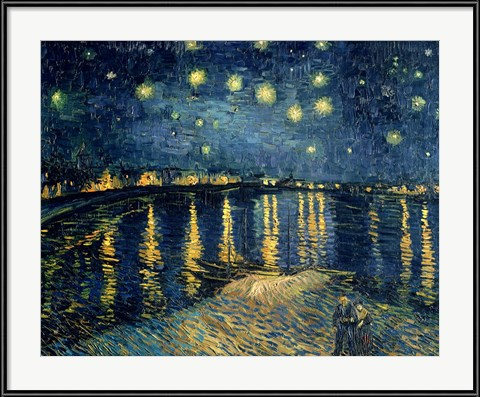 Starry Night over the Rhone - Vincent Van Gogh (1988)