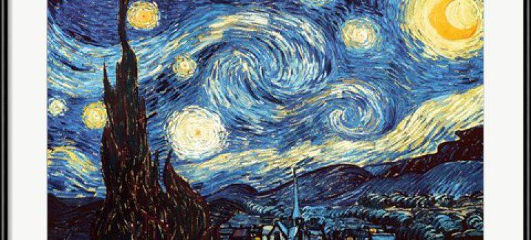 The_Starry_Night_Vincent_Van_Gogh (1889)