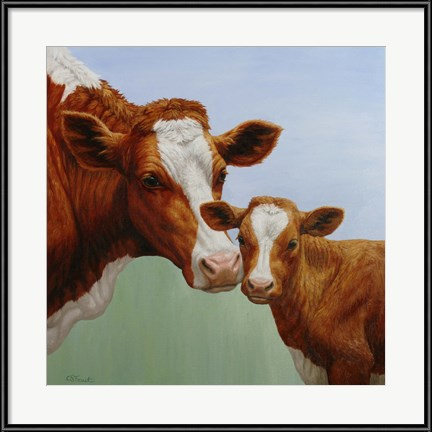 Happy Cows! Cream and Sugar by Crista Forest