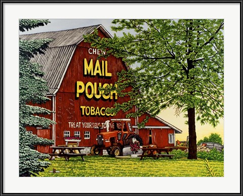 Mail Pouch Barn 2 by Thelma Winter
