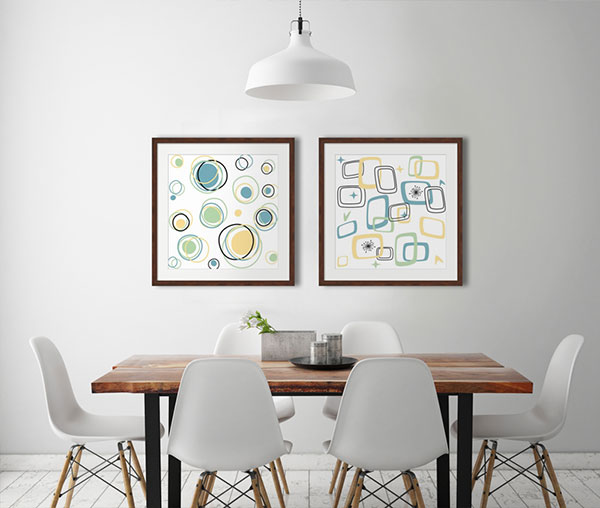 Wall Art for Every Room in a Slew of Styles - FramedArt Tour ...