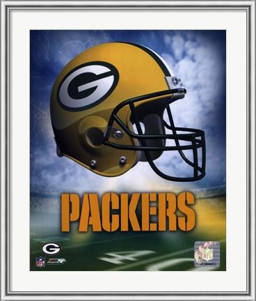 Green Bay Packers Helmet Poster