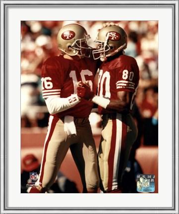 Jerry Rice and Joe Montana - San Francisco 49ers