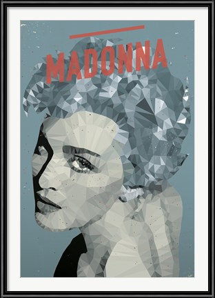 Madonna poster by American Flat
