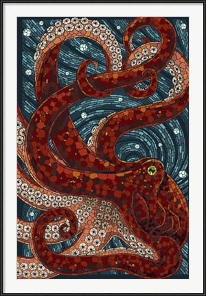 Octopus Mosaic by Lantern Press