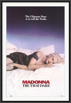 Madonna Truth or Dare poster