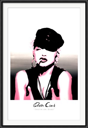 "Ocean Clark's ""Truth or Dare"" Madonna tribute art"