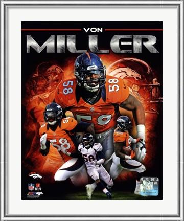 Von Miller Hero Poster