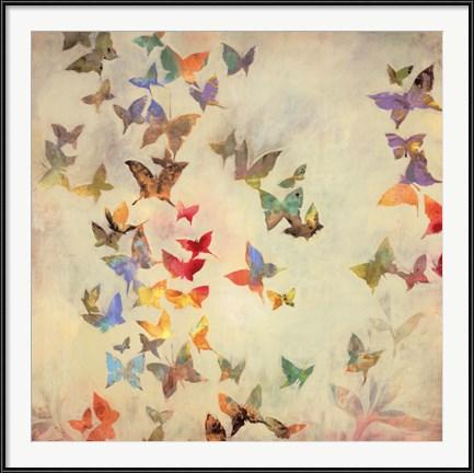 Butterfly Cottage Art - All Aflutter by Liz Jardine