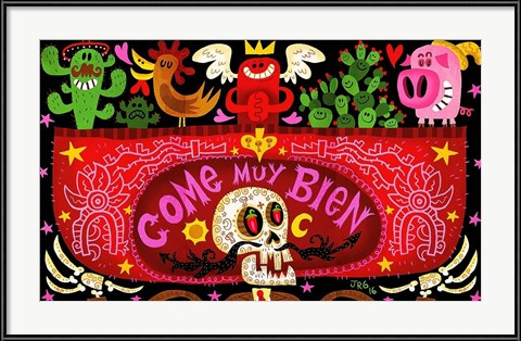 Fun Halloween Art! Come Muy Bien by Jorge R. Gutierrez