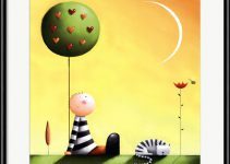 Fun and Calming Kids Room Art - Dreaming by J. Parry