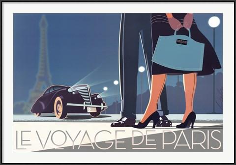 Le Voyage de Paris II - New York Graphic Society print