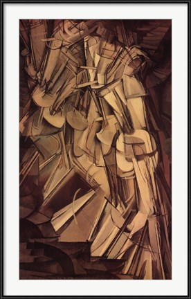 Nude Descending a Staircase, No. 2, 1912 by Marcel Duchamp
