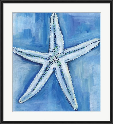 Cottage Art: Starfish Blues by Anne Seay