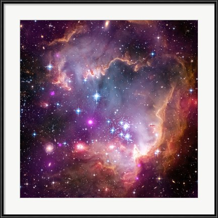"Decorative Wall Art - Taken Under the ""Wing"" of the Small Magellanic Cloud by NASA, ESA, STScl"