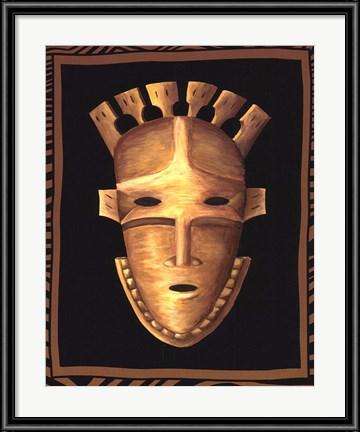 African Mask III by Chariklia Zarris
