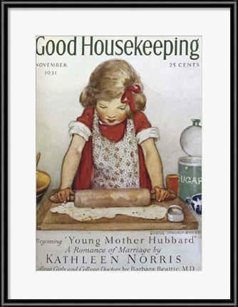 Vintage Thanksgiving Artwork - Good Housekeeping Cover, 1931