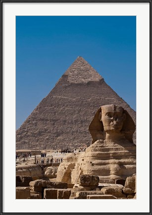 Dining Room Wall Art Photography - Sphinx and Pyramid, Giza, Egypt by Michael DeFreitas / Danita Delimont