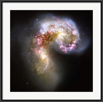 The Antennae Galaxies in Collision