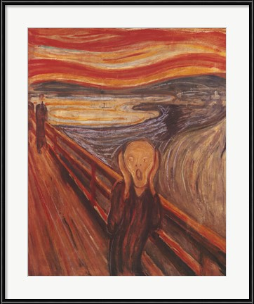 Dining Room Wall Art that's sure to send shivers - Munch's The Scream