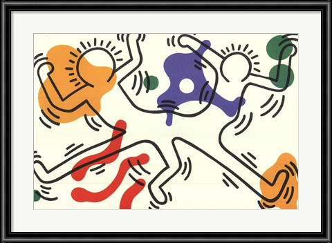Untitled - Connected by Keith Haring