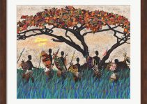 Planes of Africa III by Alonzo Saunders