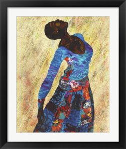 Woman Strong IV by Alonzo Saunders