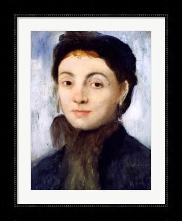 Portrait of Josephine Gaujelin, 1867 by Edgar Degas