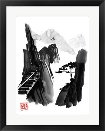 japandi framed wall art