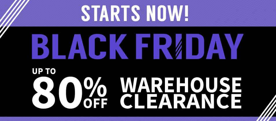 Black Friday Clearance Sale