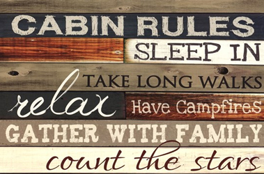 Cabin Rules by Marla Rae