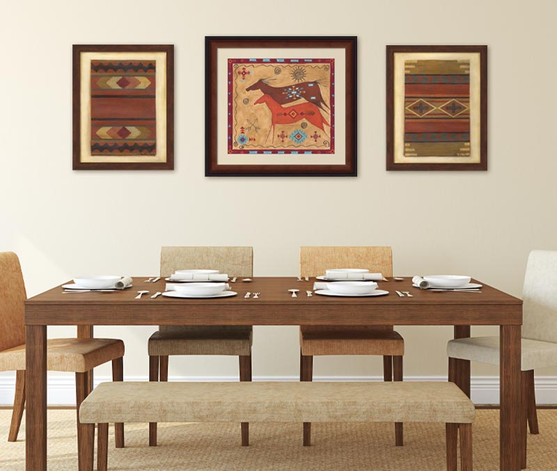Dining Room Americana Art