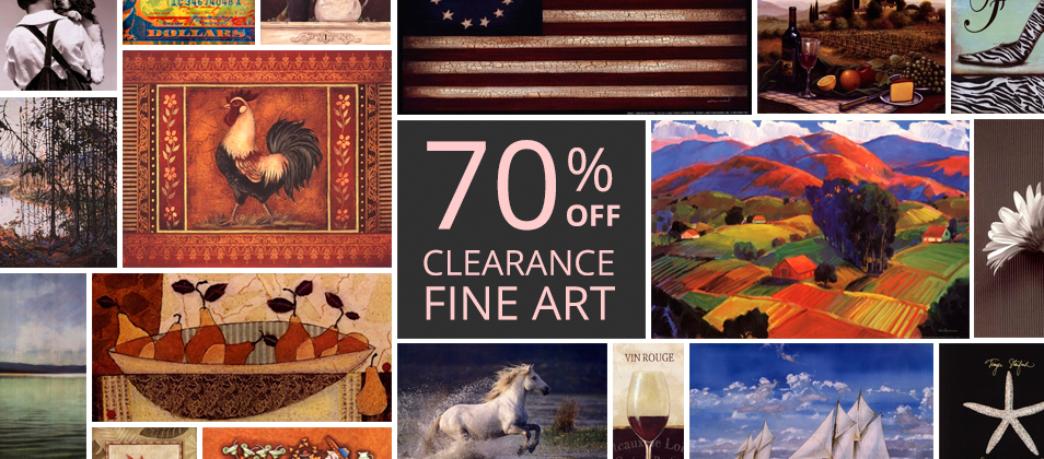 Clearance Fine Art Prints