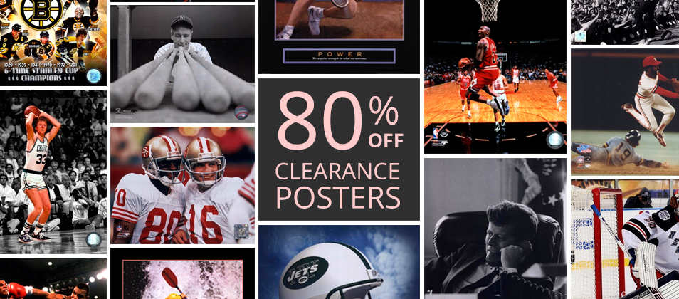 Clearance Posters