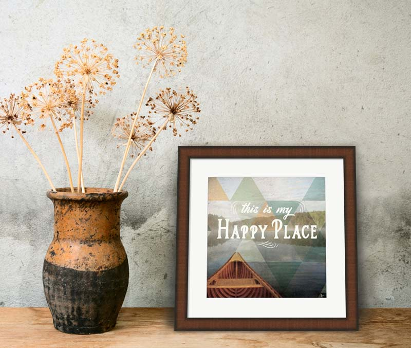 Cabin Fever Framed Decor Decorating Ideas And Art Inspiration At