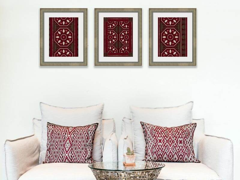 framed exotic decor