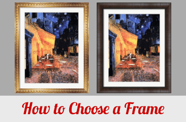 Discover More How To S Choose A Frame