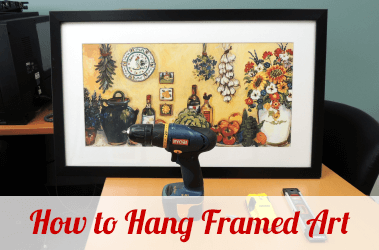 How to Hang Framed Art