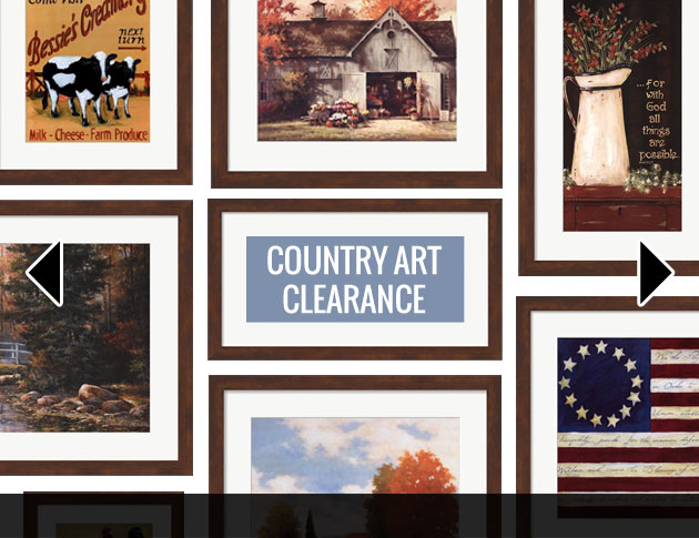 Clearance Country Art