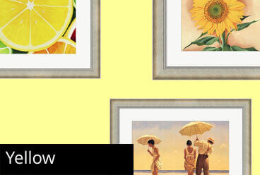 Yellow Framed Art