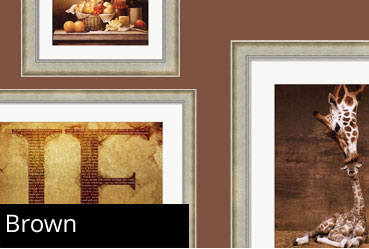 Brown Framed Art