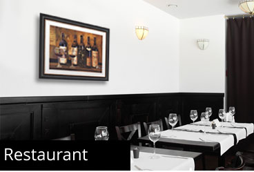 Framed Restaurant Prints