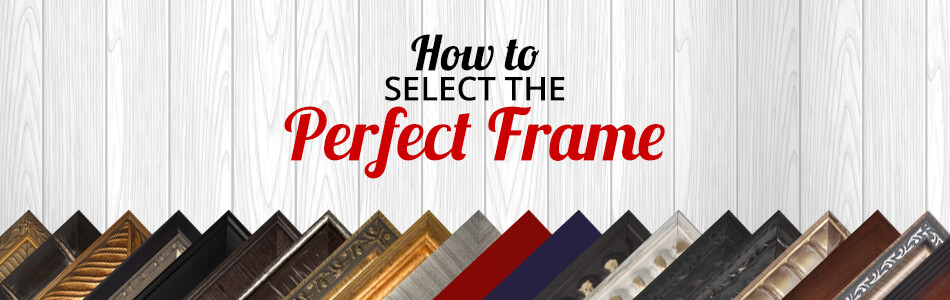 Select a Frame for Your Framed Art
