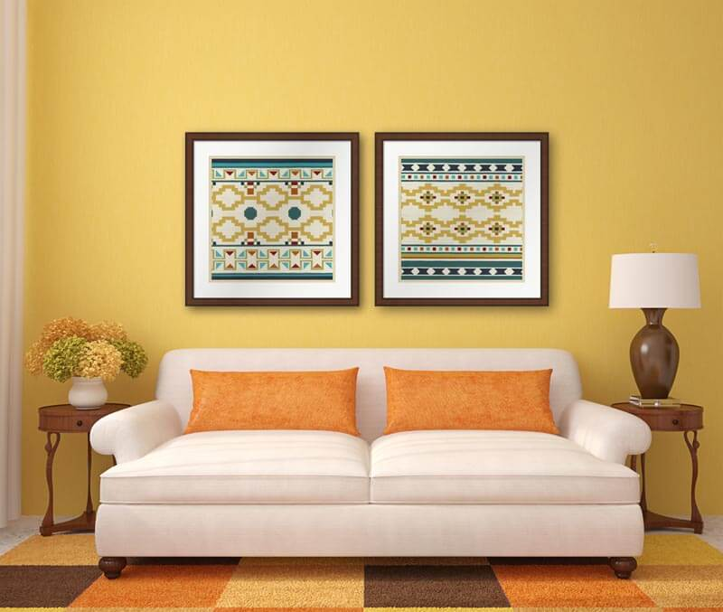 Old Fashioned Southwestern Wall Colors Composition - Wall Art Ideas ...
