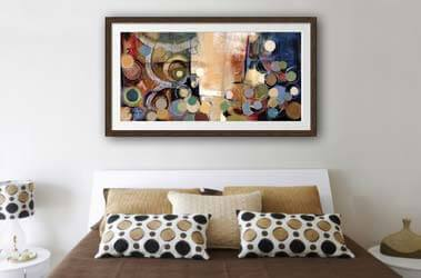 Hanging Bedroom Art