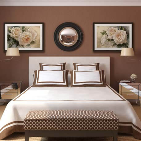 Brown Bedroom Artwork Art Ideas  Best FramedArt com