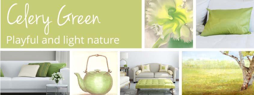 Celery Green Art
